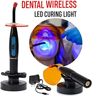 Aries Outlets Dental LED Light Lamp Wireless Cordless Resin Cure 5W 1500MW USA Stock
