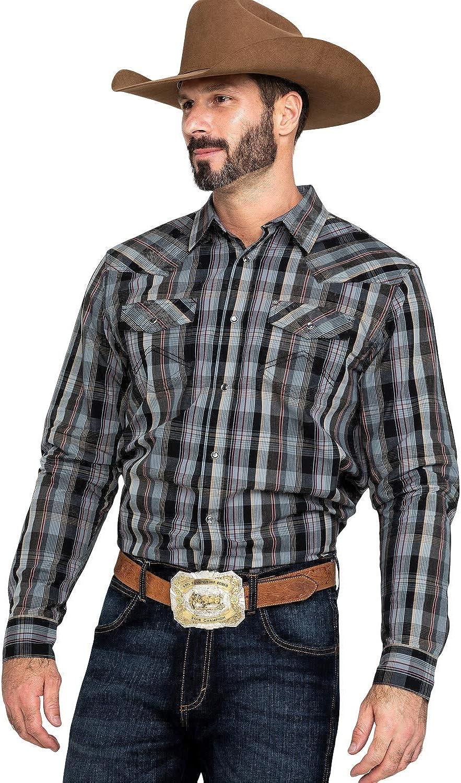 Cody James Men's Chapman Plaid Long Sleeve Western Shirt Big - Cmh19w3-B