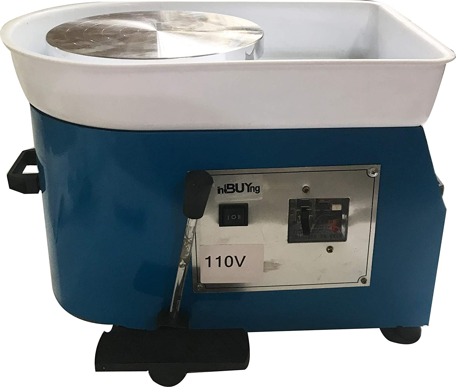 INTBUYING 9.5 inch 250W 110V Shipping included 2021 spring and summer new Electric Wheel Pottery Cera Machine