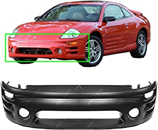 MBI AUTO - Primered, Front Bumper Cover for 2002 2003 2004 2005 Mitsubishi Eclipse, MI1000282