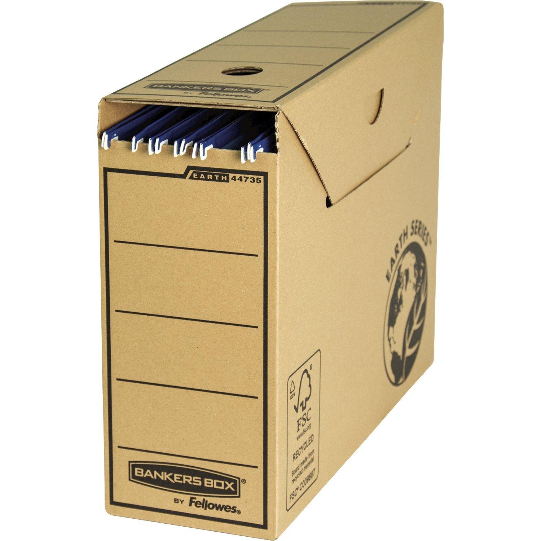 Bankers Box 4473501 - Caja de archivo para carpetas colgantes: Amazon.es: Oficina y papelería