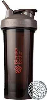 BlenderBottle Shaker Bottle Pro Series Perfect for Protein Shakes and Pre Workout, 28-Ounce, Ash