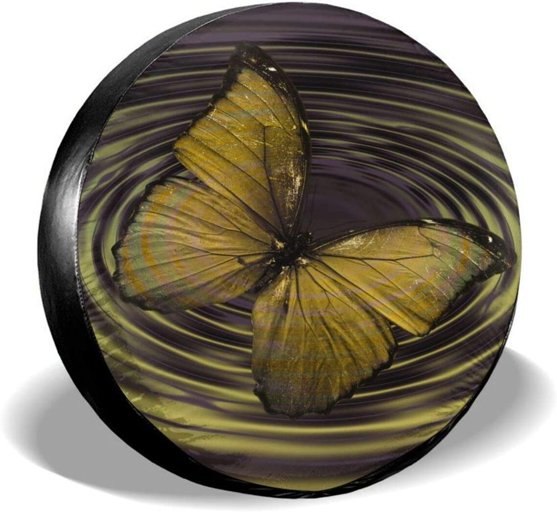 HYEECR Tire Cover Butterfly Insect Cove Art Universal Directly managed store Special Campaign Spare