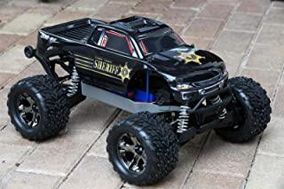 SummitLink Compatible Custom Body Police Style Replacement for 1/10 Scale RC Car or Truck (Truck not Included) ST-PB-01