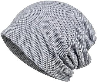 KISSTYLE 爽快メッシュ ニット帽子 メンズ レディース薄手 ワッチ 抗がん剤 医療用 通気性抜群 ビーニー