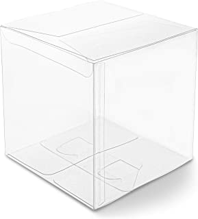 Clear Candy Gift Box, Transparent Boxes for Candy Party Favors (5 In, 30 Pack)
