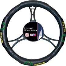 NCAA Steering Wheel Cover One Size black