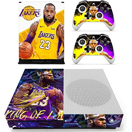 Vanknight Xbox One S Slim Console 2 Controllers Remote Skin Set Vinyl Skin Decals Stickers Covers Wrap for XB1 S Goku XB1 S