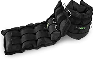 A2ZCARE Ankle/Wrist Weights for Men and Women (Sold in Pair) - A Comfortable Leg Weights Set for Gymnastics, Exercise, Fitness, Walking