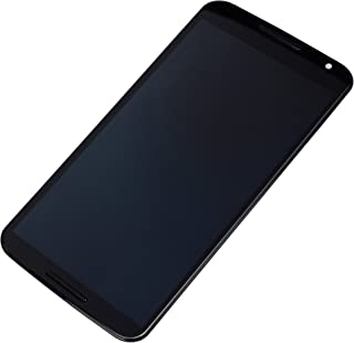 LCD display DigitizerTouch Screen Assembly for Motorola Google Nexus 6 XT1100 XT1103 (Black with Frame)