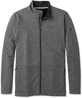 Men's Full Zip Jacket - Merino Sport Wool Fleece Outerwear