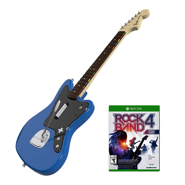 Rock Band Rivals Wireless Fender Jaguar Bundle for Xbox One