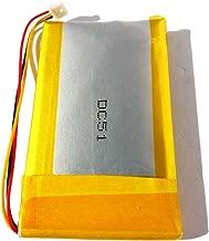 1250mAh Li-Polymer Replacement Battery for Garmin Nuvi 300, Nuvi 300T, Nuvi 310, Nuvi 310D, Nuvi 310T, Nuvi 350, Nuvi 350T, Nuvi 360, Nuvi 360T, Nuvi 370