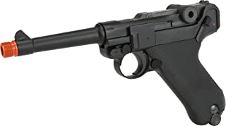 Evike WE WWII Full Size/Metal Luger Airsoft Gas Blowback