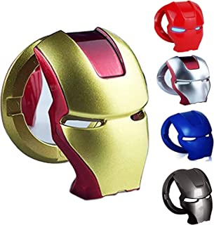 Car Engine Ignition Push Start Button Cover, Marvel Gifts Iron Man car Accessories 3D Circle Ring Cover Iron Man Car Inter...