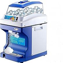 VEVOR Machine à Glace Pilée 300W Broyeur à Glace Électrique 200 kg Finesse Glace Ajustable Vitesse Rotation 320 TR/Min pou...