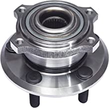 TUCAREST 512301 Rear Wheel Bearing and Hub Assembly Compatible With 2005 2006 2007 2008 Dodge Magnum 06-09 Charger 05-09 Chrysler 300 (Fit with 27 spline shaft Only) [5 Lug]