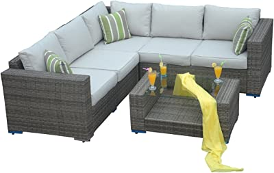 Amazon.com : Vondom Sabinas Sofa for Outdoor White : Garden ...