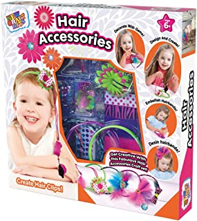 Fashion Headbands Craft Kit - Create Hair Accessories for Girls - Make Your Own different Unique Headband Accessories - Girls Hair Accessories Gift Set