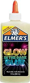 Elmers Glow in The Dark Liquid Glue 9Oz-Natural