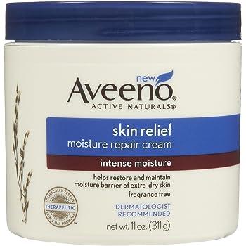 Aveeno Skin Relief Intense Moisture Repair Cream, 11 oz (Pack of 3)