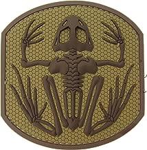 Mil-Spec Monkey Frog Skeleton PVC Patch (Desert)