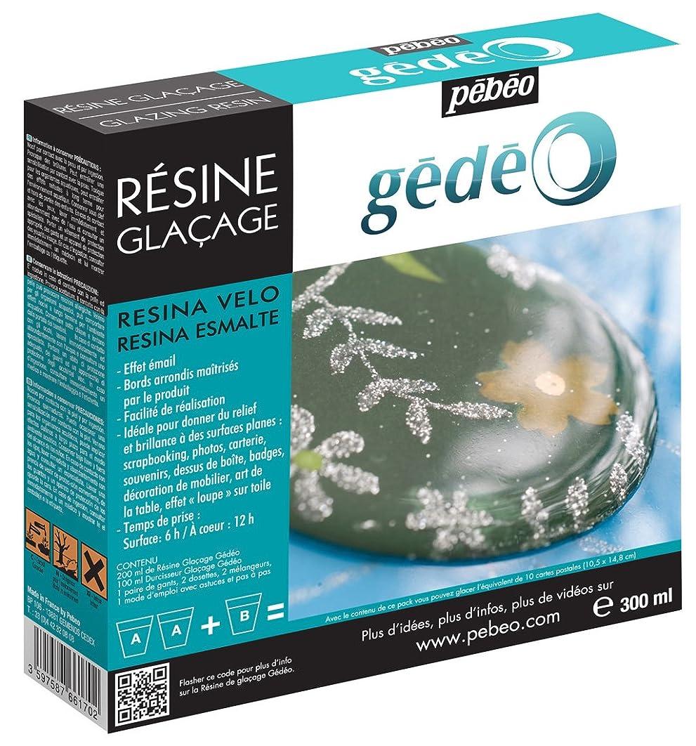 Gedeo 300 ml Glazing Resin, Transparent