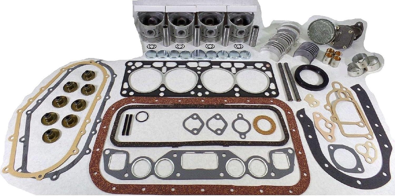 Overhaul Rebuild Kit for Nissan H20-2 H20-II Engine TCM Cat Gasoline LPG Forklift Truck