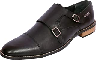Maplewood Brown Genuine Leather Crest Shoes For Men