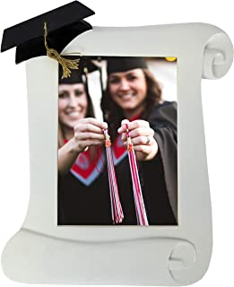 """Trenton Gifts Photo Frame for Graduation, Diploma-Shaped Picture Frame (5"""" x 7"""")"""