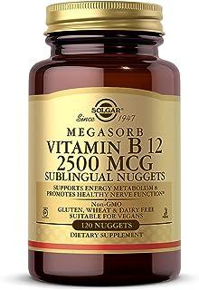 Solgar - Vitamin B12 2500 mcg, 120 Nuggets