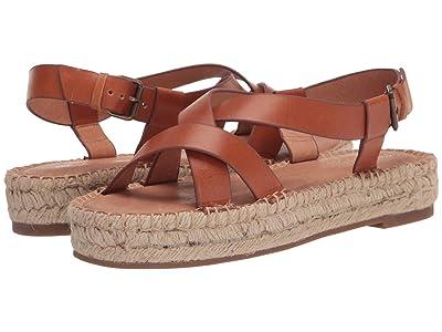 Madewell Aleh Asymmetric Espadrille Sandal (Burnished Caramel) Women