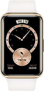 HUAWEI HW-STIA-B29-WHITE Elegant Addition Watch Fit Smartwatch, Frosty White