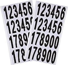 Pegatinas de n/úmeros pegatinas autoadhesivas n/úmeros redondos 10 Sheets 0-10