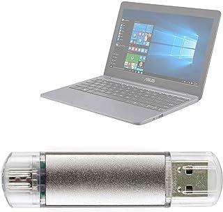 DURAGADGET Pendrive USB 2.0 con conexión USB y Micro USB - 16 GB para Portátil ASUS VivoBook E12 E203NA-FD021TS N3350, ASUS VivoBook E12 E203NA-FD088T