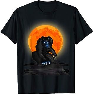 Werewolf Shirt - Werewolf Halloween Shirt - Halloween Moon T-Shirt