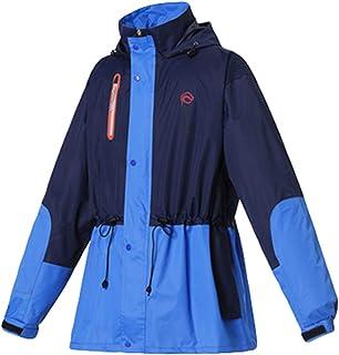 Player - Chaqueta impermeable con capucha para mujer, resistente al viento, para motocicleta, resistente al viento