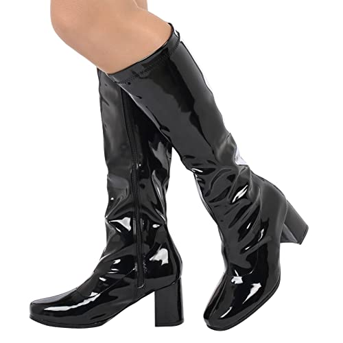 3bb91228e001 Buckle Shoes - (BS12733 New Ladies Womens Fancy Dress Party GO GO Boots  1960s