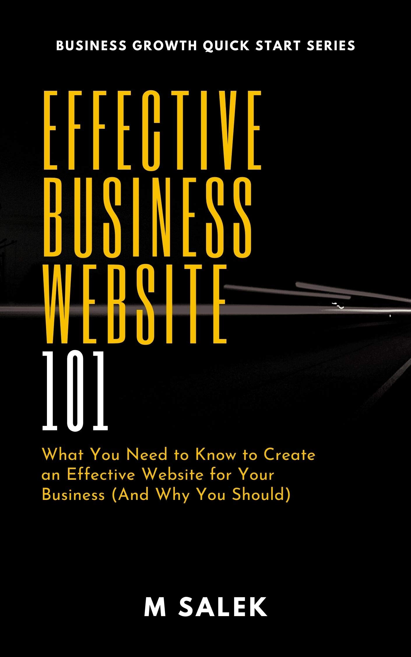 Effective Business Website 101: What You Need to Know to Create an Effective Website for Your Business (And Why You Should) (Business Growth Quick Start Series Book 16)