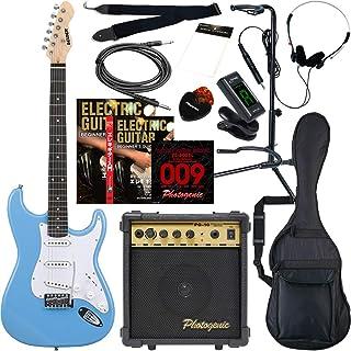 SELDER セルダー エレキギター ストラトキャスタータイプ サクラ楽器オリジナル ST-16/UBL 初心者入門13点セット