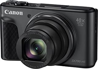 Canon Powershot SX730HS Digital Camera(SX730HSBK) 3 Inch display,Black (Australian warranty)