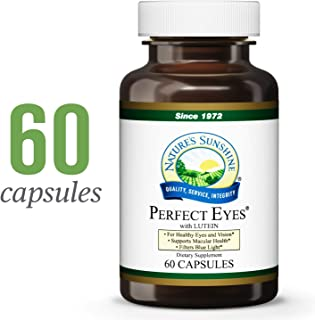 Nature's Sunshine Perfect Eyes, 60 Capsules, Kosher | Natural Antioxidant Protection for Aging Eyes and Supports Macular Health