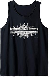 Cambodia Angkor Wat Khmer Empire Tank Top