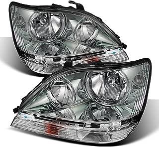 ACANII - For 1999-2003 Lexus RX300 Headlights Headlamps Replacement 99-03 Driver + Passenger Side Pair