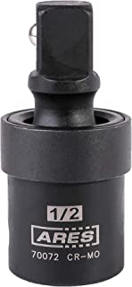 ARES 70072-1/2-inch Drive Impact Universal Joint - Chrome Moly U-Joint Socket Accesses Hard to Reach Fasteners