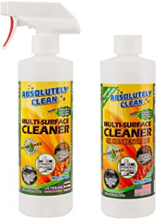 Amazing Multi-Purpose Cleaner Combo Pack (1-Spray Bottle & 1-Refill Bottle) - Natural Based Ingredients - Powerful, Natural Enzymes Make Cleaning Easy - Fume Free - No Harsh Ingredients - USA Made