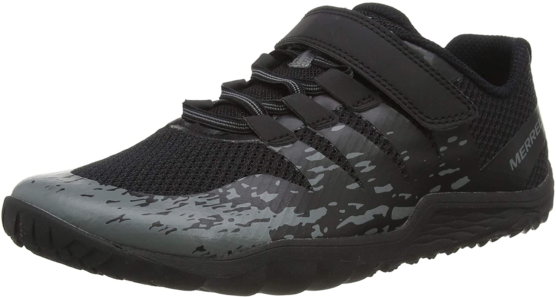 Merrell baby boys Trail Glove 5 a/C Sport Sandal, Black, 10 Big Kid US