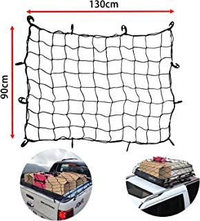 Fit Chevrolet Pickup Truck Heavy-Duty Cargo Net Extended Cab 8.5ft Bed Web