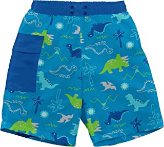 i play. by green sprouts Swim Trunks with Built-in Reusable Swim Diaper | Baby Boy Swimsuit | Lightweight, Patented Design