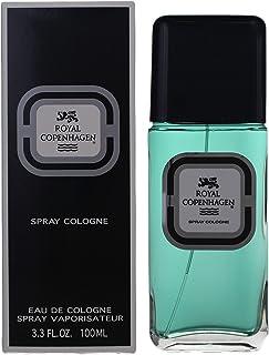 Royal Copenhagen Eau De Cologne Spray For Men, 3.3 Ounce